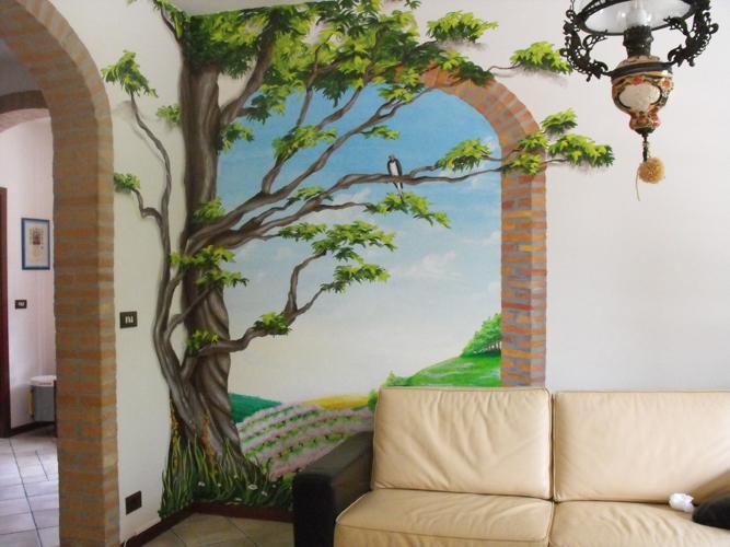 Marianna petronelli decorazioni su pareti e pannelli for Decorazioni pareti casa